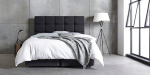 Broring natural antraciet bed